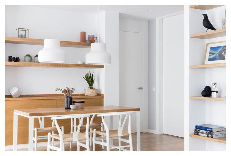 Legno e Bianco: un appartamento per giovani coppie al quale non saprai resistere! (di Claudia Adamo)