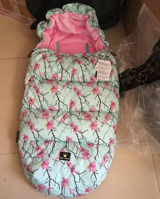 winter Baby stroller warmer down sleeping bag stroller accessories for baby, stroller footmuff free shippping