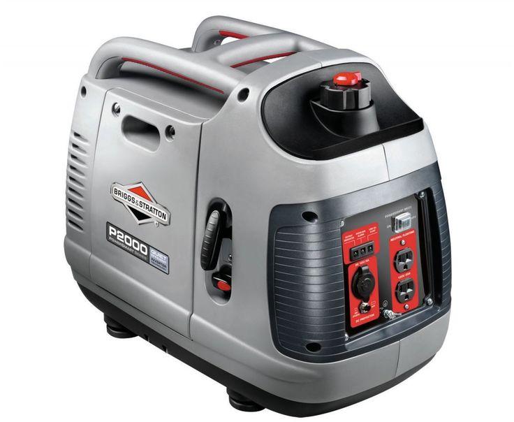Briggs & Stratton P2000 PowerSmart sarjan kannettava invertterigeneraattori on yksi maailman eniten myydyistä generaattorimalleista. Myös muut sähkötyökalut Taloon.comista!