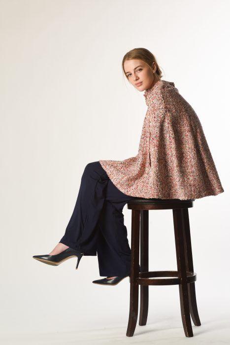 Spring Tweed Cape $210