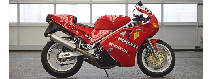 C.1990 DUCATI 851 SP2 Frame no. ZDM888S*000277* Engine no. Obstructed by body panels