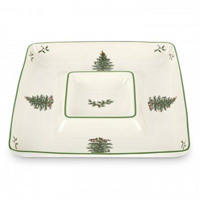 Spode Square Chip and Dip in 2018 Products Spode christmas