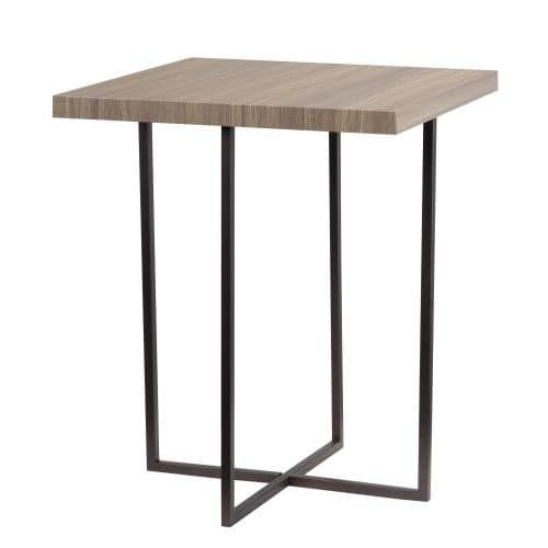 Kenroy Home 65022 Cronin 24 Tall Accent Table, Satin Bronze