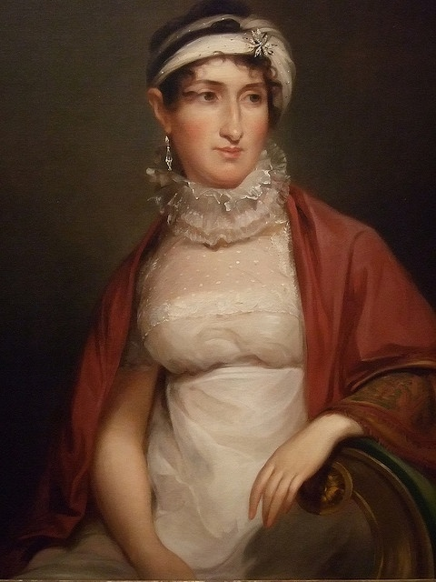 Portrait of Mary Harvey by Thomas Sully 1813 CE oil on canvas    Photographed at the Dallas Museum of Art in Dallas, Texas.