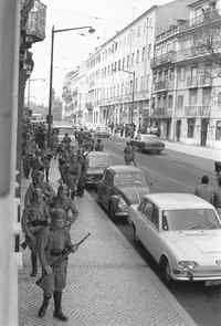 Rua D.Pedro V, 25 de Abril de 1974