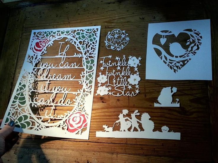 Introduction to Papercutting DIY Mini Pack