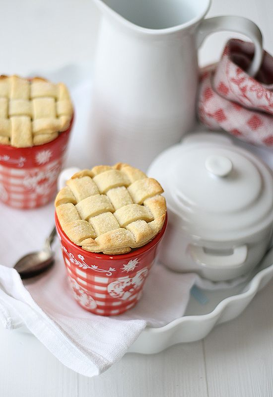 lattice pie crust cookie toppers for coffee or tea. #baking #idea
