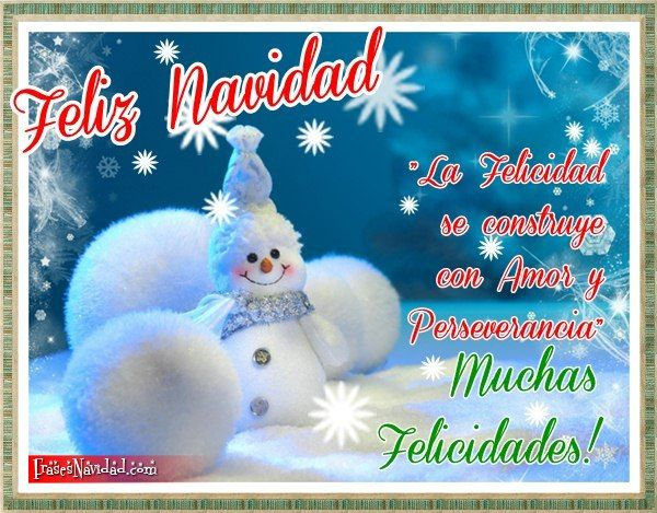 Feliz Navidad con paisaje nevado » http://frasesnavidad.com/feliz-navidad-con-paisaje-nevado/