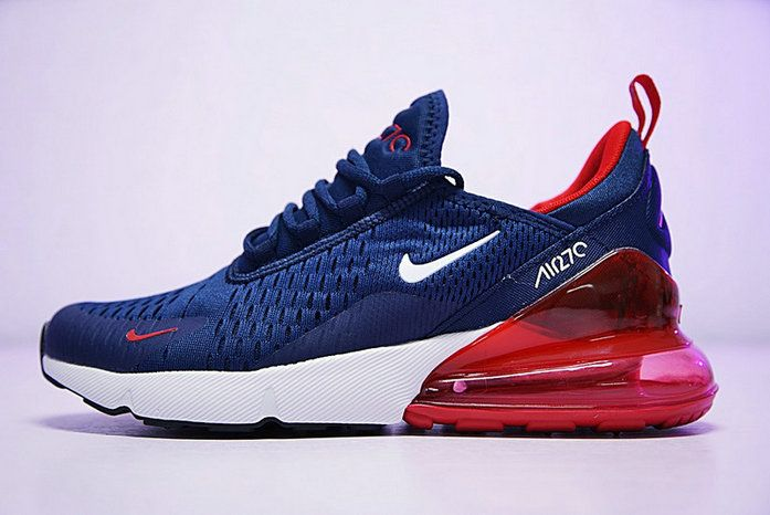official photos 84868 a2d03 2018 Popular Nike Air Max 270 Bule Red Ah8050 416 Trainers Lifyle s Shoe