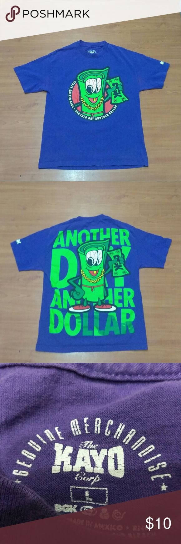 DGK shirt (L) Used AS IS no holes DGK Shirts