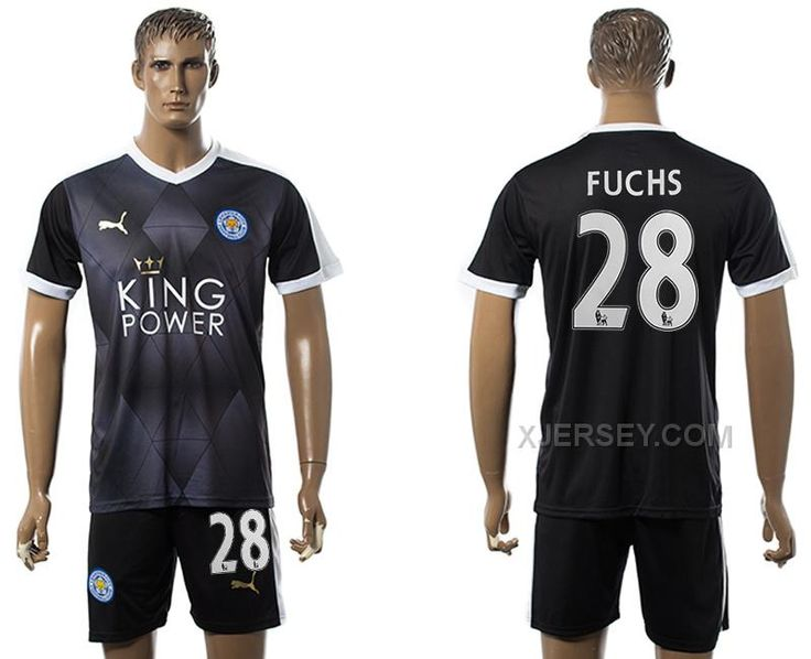 http://www.xjersey.com/201516-leicester-city-28-fuchs-away-soccer-jersey.html 2015-16 LEICESTER CITY 28 FUCHS AWAY SOCCER JERSEY Only $35.00 , Free Shipping!