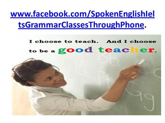 Spoken English, IELTS & Grammar classes by damianev via authorSTREAM