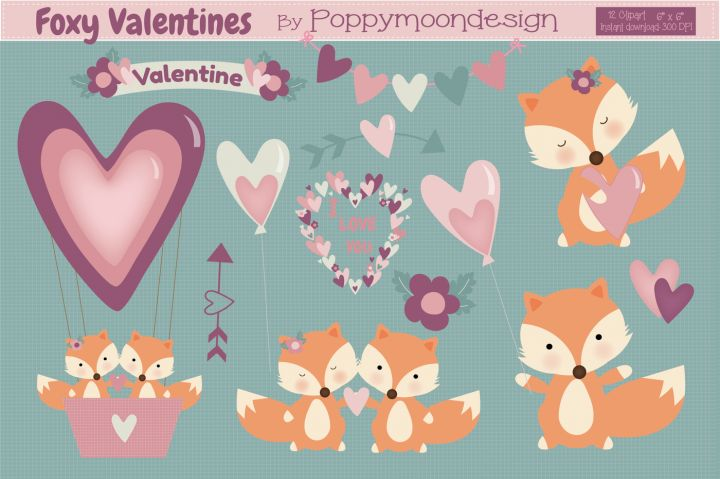 Our latest FREEBIE is here!! Just in time for Valentines Day, get this beautiful set of 12 transparent cute fox graphics. A huge thank you to PoppyMoon Design for allowing us to share their brilliant product with you for free. As with all our weekly freebies, this product comes with a complete commercial license. The same as with all our paid goods.