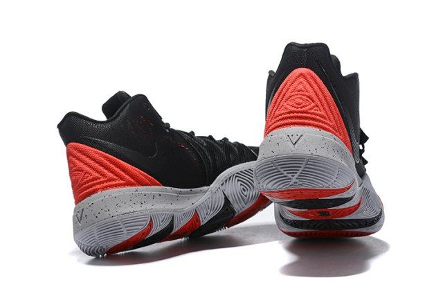 buy popular 5b600 fe041 Nike Kyrie 5 Black Red Men s Basketball Shoes Irving Sneakers
