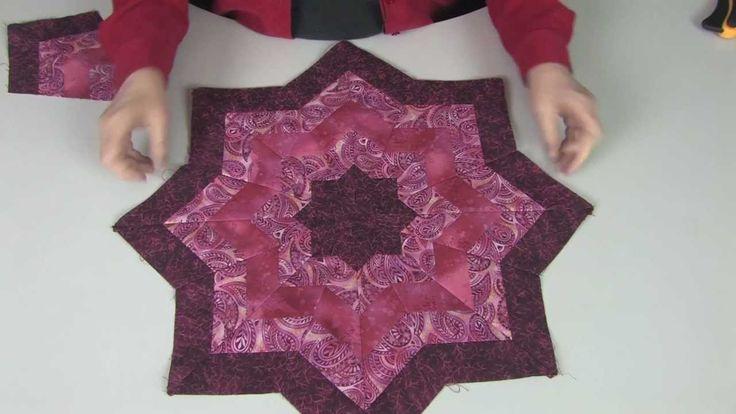 10 Degree Wedge Ruler Tree Skirt Pattern