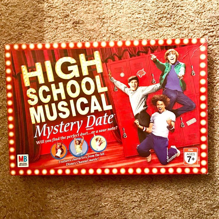HIGH SCHOOL MUSICAL MYSTERY DATE GAME - Mercari: BUY & SELL THINGS YOU LOVE