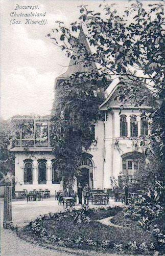 Bucuresti - Restaurant Chateaubriand ( sos Kiseleff ) - 1925