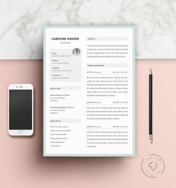 Downloadable #Resume #Template   #CV #Template