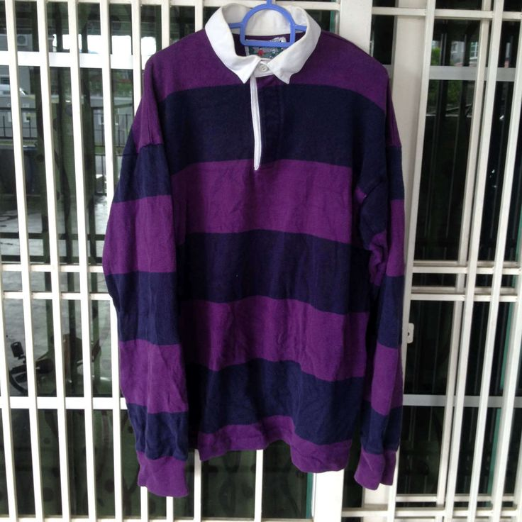 vintage Thatcher & Cross rugby jersey big stripe polo shirt Medium size by bintangclothingstore on Etsy https://www.etsy.com/listing/502323280/vintage-thatcher-cross-rugby-jersey-big