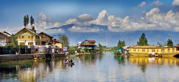 Srinagar, Jammu and Kashmir : Indian Tourist Places | Travel Destinations India: