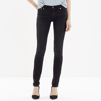 Madewell - Alley Straight Jeans in Black Sea