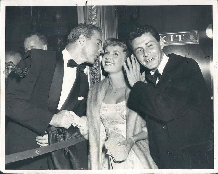 Joe DiMaggio, Debbie Reynolds & Eddie Fisher