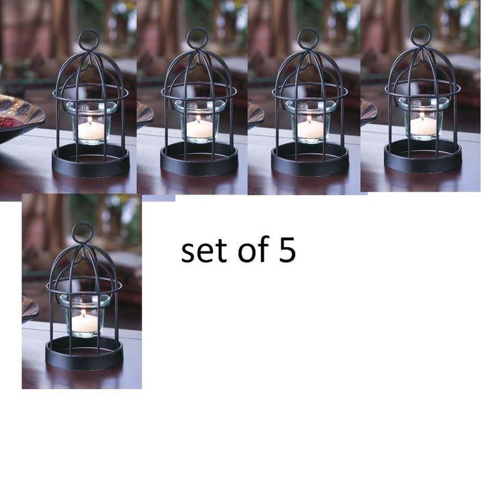 Mini birdcage centerpieces - photo#40
