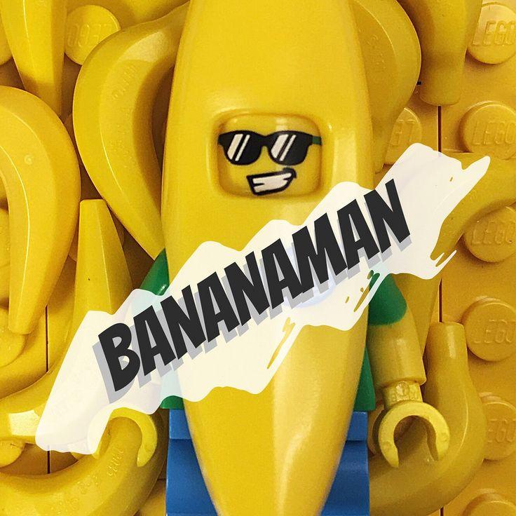 Banana Man #lego http://www.flickr.com/photos/137235609@N04/29716539264/