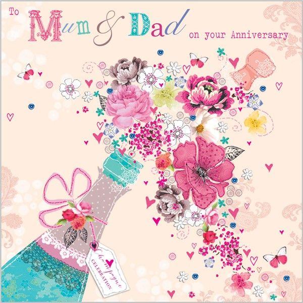 Anniversary mum and dad Pinterest – Packs of Birthday Cards Uk