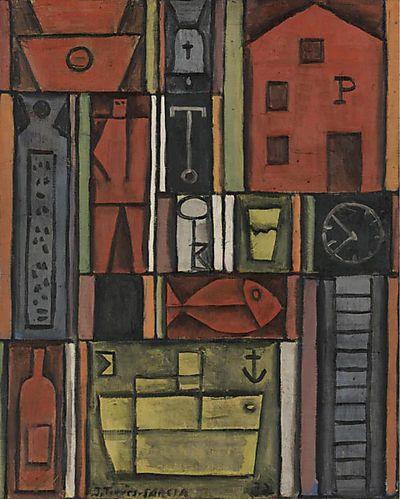 Joaquin Torres Garcia_1932 via amanda briggs at dear ada