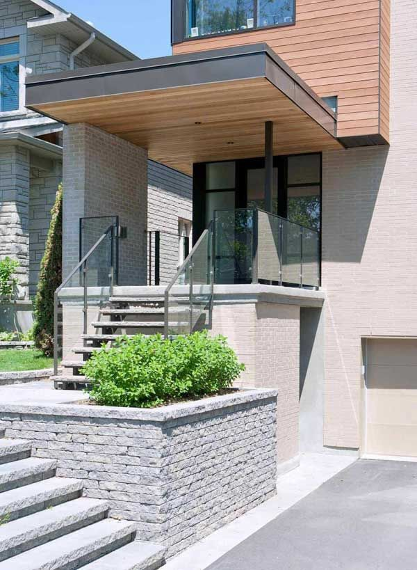 17 best images about entrance canopy on pinterest modern for Modern building canopy design