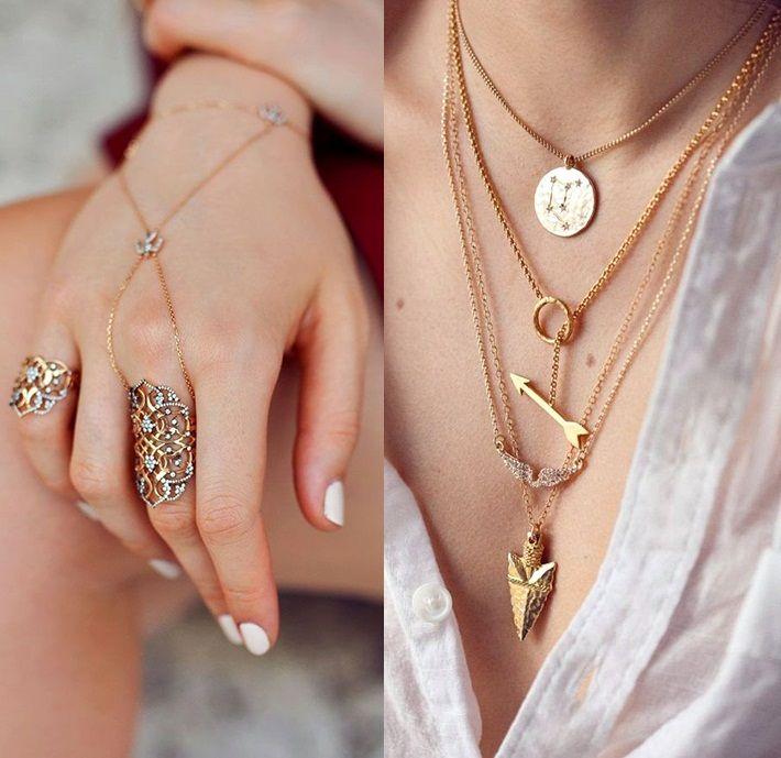 lightly layer #MIGM #MayIsGoldMonth #KaratGold #Gold #Layer #Jewelry #Necklace #Rings #FingerFrills #NeckJazz