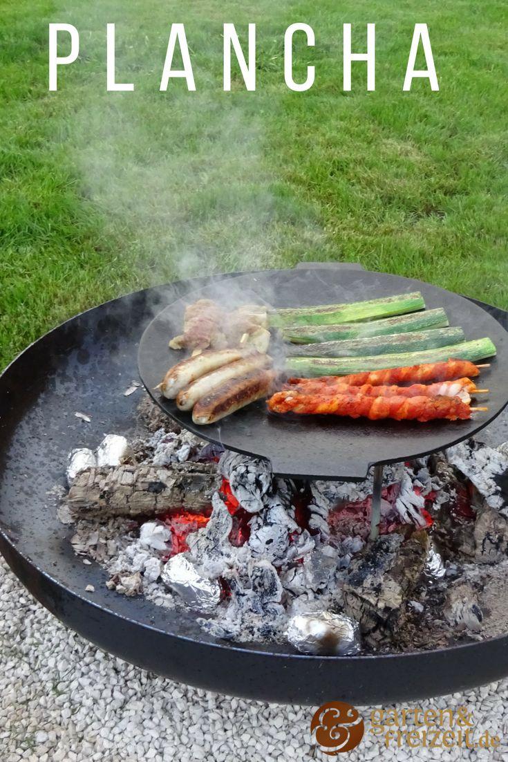 Die Plancha   Pizza auf dem grill, Grillplatte, Rezepte