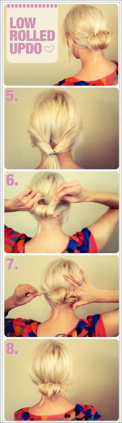 Y lúcete con uno en forma de nudo. | 17 Peinados sencillos para dominar tu cabello