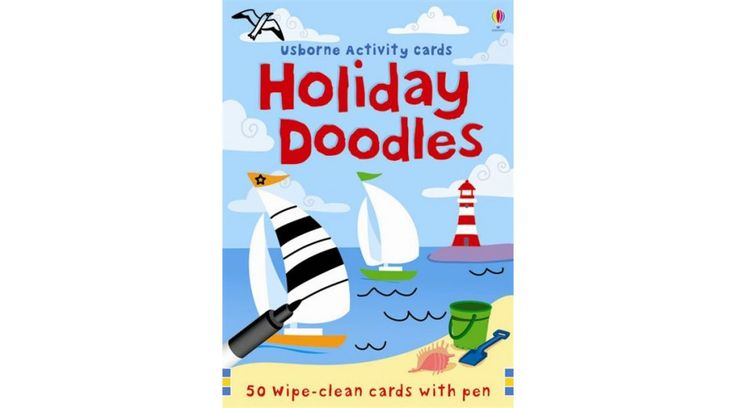 Holiday Firka-kártya (Holiday Doodles) - angol nyelvű játék  #usborne #firka-kártya #okosodjvelunk