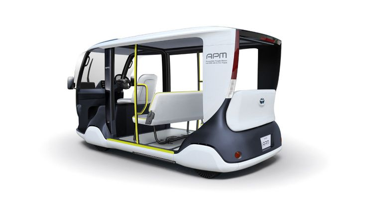 Toyota Unveils Custom Electric Shuttle For 2020 Tokyo Olympics
