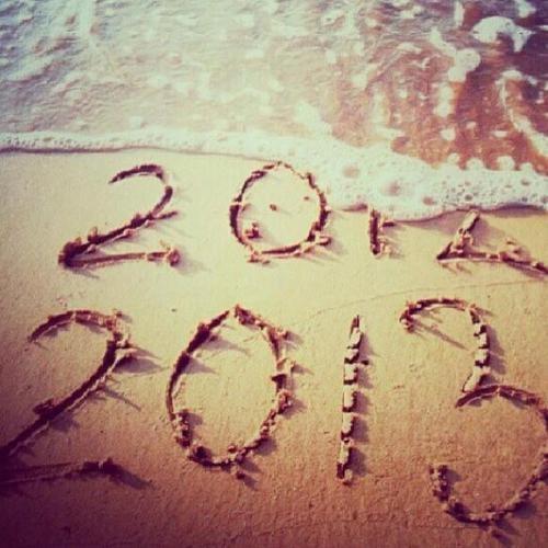 Love this. Bye 2012✌ Hey 2013 Beach pic ⚓