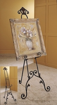 Easel - Picture Easel - Floor Easel - Decorative Easel - Iron