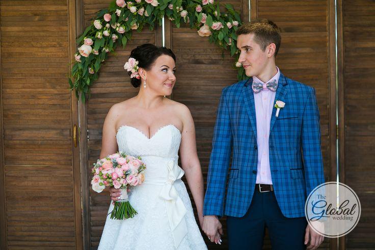 Shabby chic wedding Bouquet Decor and floristic Ceremony arch Свадьба в стиле шебби-шик Букет невесты Декор Выездная регистрация Арка