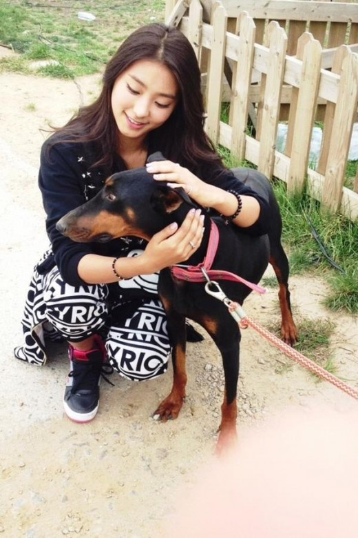 SISTAR's Bo Ra is an animal lover at heart