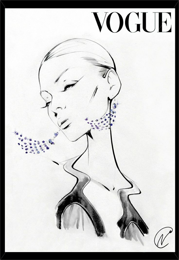 Nuno DaCosta is an editorial fashion illustrator, expert in hand drawing