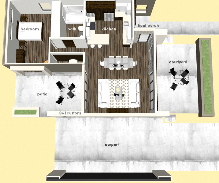 37 best images about modern house plans 61custom on pinterest front courtyard house plans Universal design bathroom floor plans