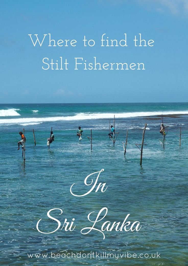 Sri Lanka is famous for it's iconic Stilt Fishermen, a technique they invented during World War II, sadly today it is a dying art. Find out where to spot them here!  #backpacking #asia #Srilanka #traveltips #solofemaletravel #travel