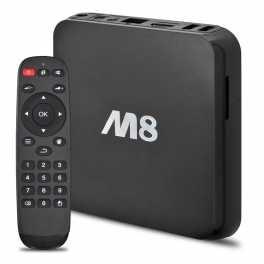 Unos de los Smart TV más poderosos, el M8 quad core con android 4.4 kit kat, graficas avanzadas con GPU ocho núcleos para los mejores juegos en 3D y resolución de hasta 4K, 2GB de RAM para una fluidez impactante, 8GB de memoria interna expandible hasta 32gb, modo Wifi dual Internet permite a los usuarios disfrutar de internet, juegos, netflix y más en sus televisores LCD LED HDTV, Potentes funciones más allá de su imaginación.