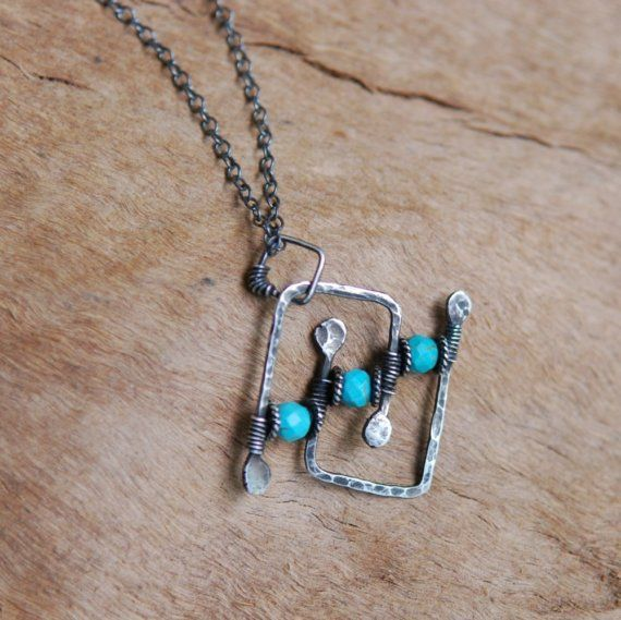 Artisan Pendant in Sterling Silver with by NeroliHandmade on Etsy