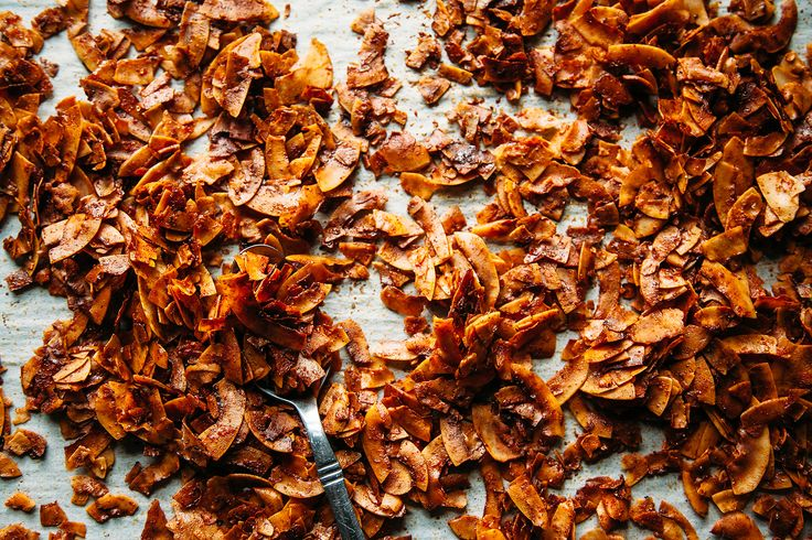 """The crispiest vegan coconut """"bacon"""" ever - The First Mess"""