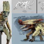 Pacific Rim Concept Art by KaijuChracter Art, Pacific Rim, Concept Art, Guys Davis, Digital Art, Home Art, Creatures Design, Character Design, Rim Concept
