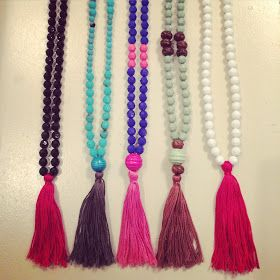 Magnolia Mamas : DIY Tassel Necklaces {tutorial}