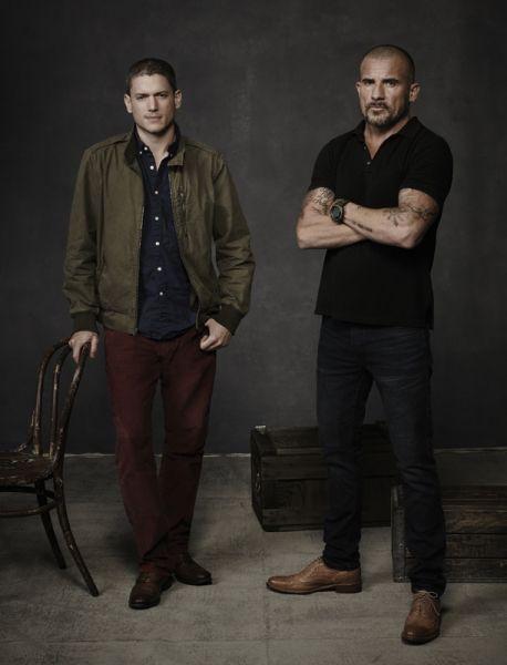 Prison Break Lincoln Burrows and Michael Scofield