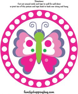 butterfly birthday cake template printable - 17 best images about butterfly birthday printables on